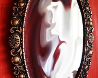 Vintage metallic mirror