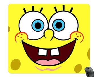 SpongeBob Mousepad. Spongebob Mouse Pad. Spongebob. Sponge Bob. Cute Spongebob. Spongebob square pants. Sponge Bob lover. Sponge bob design