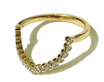 Curve Yellow Ring