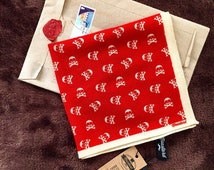 Back to skull - Skulls Pocket Square  | Gentleman accessories | dapper | blazer pocket square | handkerchief | Gift men