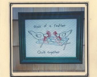 Birds of a Feather Embroidery Pattern