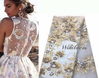Embroidered French Lace