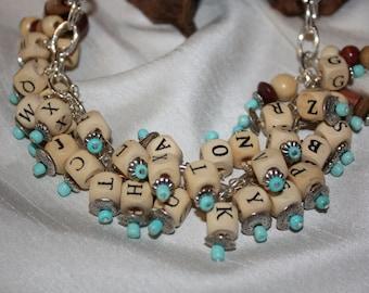 Alphabet Fun Adjustable necklace