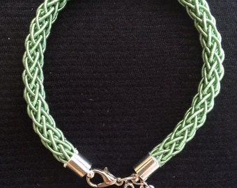 Light Green Rope Bracelet