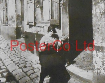 "Eugene Atget, Prostitute soliciting, April 1921 (Framed Picture 16"" x 12 "")"