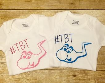 SALE Baby #TBT Onesie, Funny Onesie, Baby Shower Gift