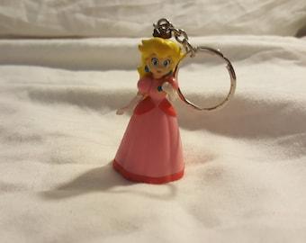 Princess Peach keychain