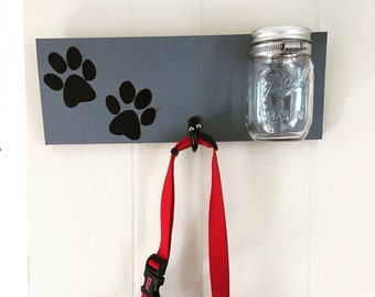 Dog Leash Holder / Dog leash hook / Pet Decor