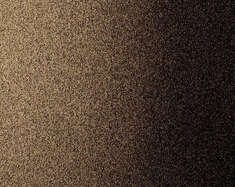"""12"""" x 12"""" Chocolate Brown Glitter Cardstock, suitable for scrapbooking, invitations, arts and crafts"""