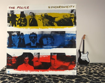 The Police - Synchronicity, vintage LP