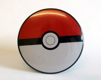 Pokemon Classic Pokeball Pocket Mirror 76mm 3 inch
