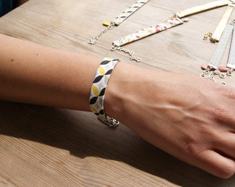 Hand-made Yellow Bracelet