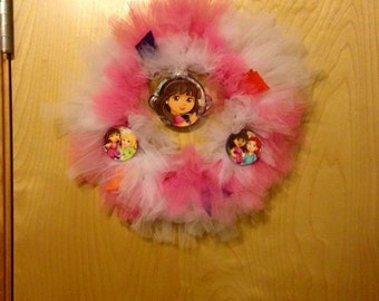Children tulle wreath