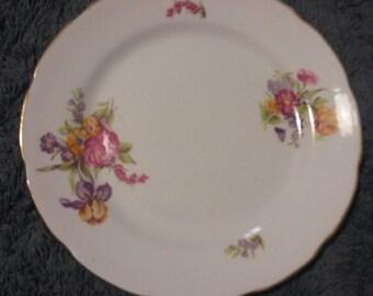 Rare Antique Spencer and Stevenson Teacake Plate