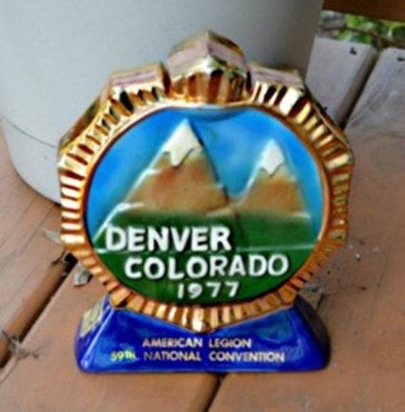 Denver Colorado 1977 American Legion 59th National Convention Decanter