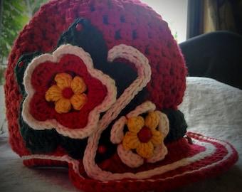 Child's crocheted cap