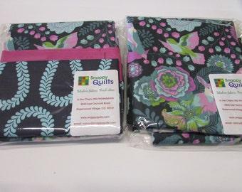Floral and Bird Design Pillowcase Kit Cotton Fabic