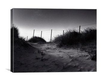 Littlehampton Sand Dunes canvas print