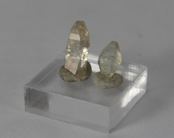 Two Sapphire crystals selection