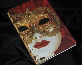 Blank Art Journal, Mixed Media Journal, Watercolor Journal, Handmade Journal, 6x9 Journal, Scrapbook Journal