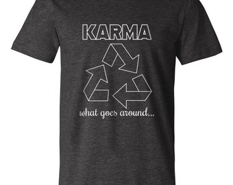 Karma T-Shirt 20% of proceeds is donated to charity!