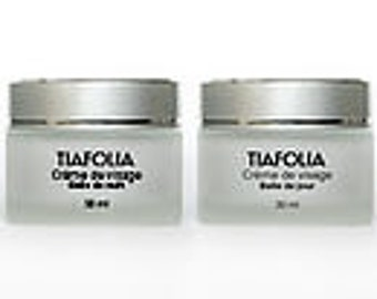 Day face cream / night essential oils