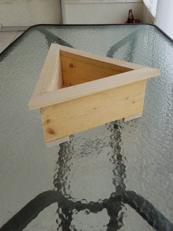 Custom Made Cool Triangle Garden Box Planter