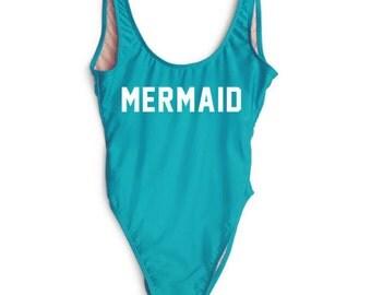 SALE Mermaid One Piece Swim Suit