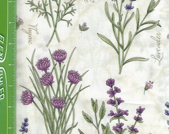 Lavender,Thyme For Friends ,Herb Garden on natural,Maywood Studio