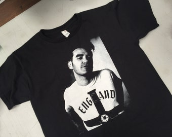 Morrissey Shirt The smiths shirt brit pop Moz England