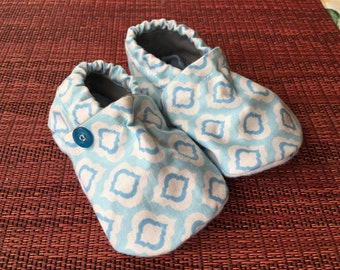 Homemade baby shoes infant size 0-6 months, boy or girl