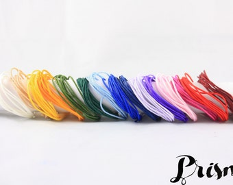 Color chart - 15 Colors - 1 meter of each color - 1 mm-cord Nylon