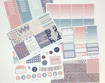 Already There Weekly Kit / Planner Stickers / Erin Condren Planner Stickers / Vertical