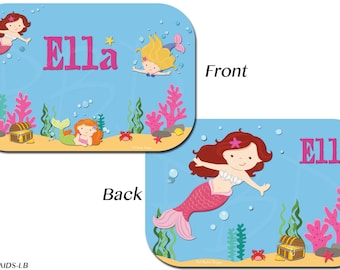 Personalized Children's yubo Lunch Boxes - Mermaids