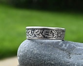 Silver Swiss Two Francs Coin Ring