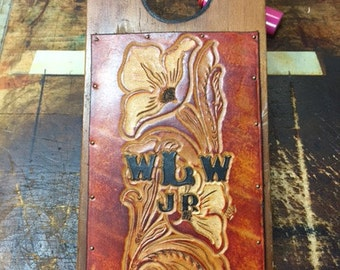 Custom Hand-Tooled Boot Jack (Detailed)