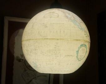 Vintage Globe Chandelier
