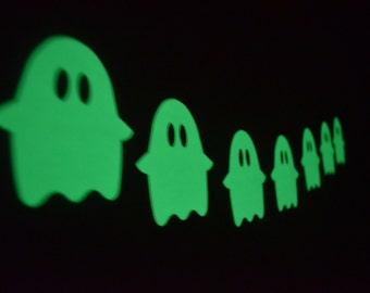 Ghost Decals~ Glow in the Dark Wall Sticker~ Halloween Decals~ Halloween Stickers~ Halloween Decor~Halloween Party~ Wall Stickers