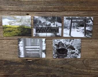 Tassajara photocards - set 1