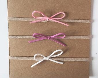 Little bow hair bands