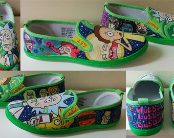 Rick and Morty Shoes: Men's