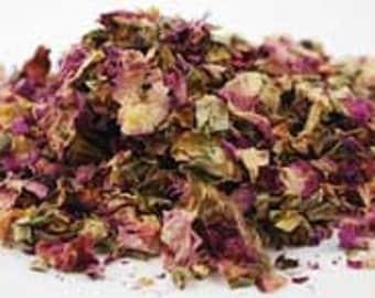 Pink Rose Petals (rosa Gallica)