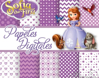Digital papers Princess Sofia