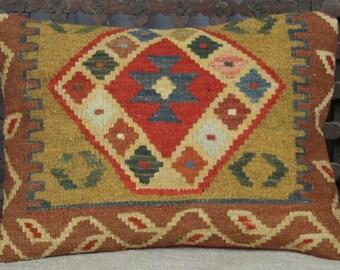 Kilim Cushion Cover 50x35 cms
