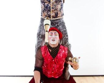 Custom Design Men's Circus costumes