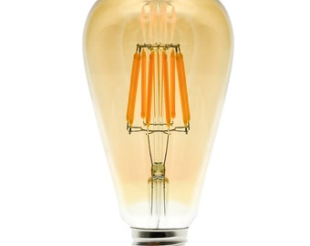 8W (such as 70 W) E27 LED light bulb filament lamp