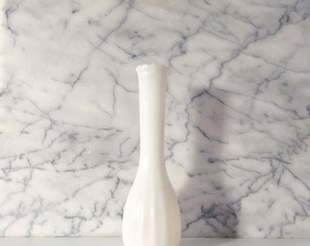 Classic Milk Glass Bud Vase