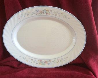 Arcopal Victoria Oval Serving Platter 34cm x 25.5cm