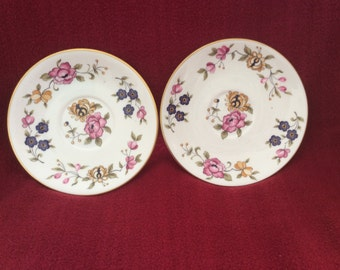 Coalport San Remo Tea Saucer set of 2