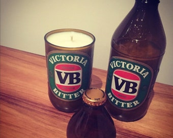 Handmade VB Soy Candle with Lid